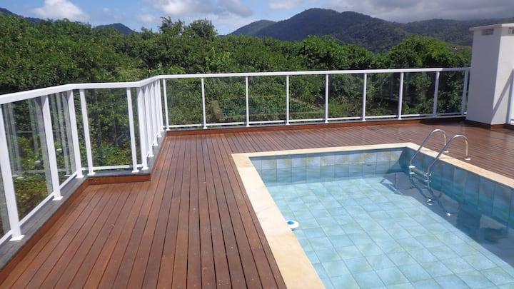 A NOVA JOIA DO ITAGUÁ  - Apto Novo c/ piscina