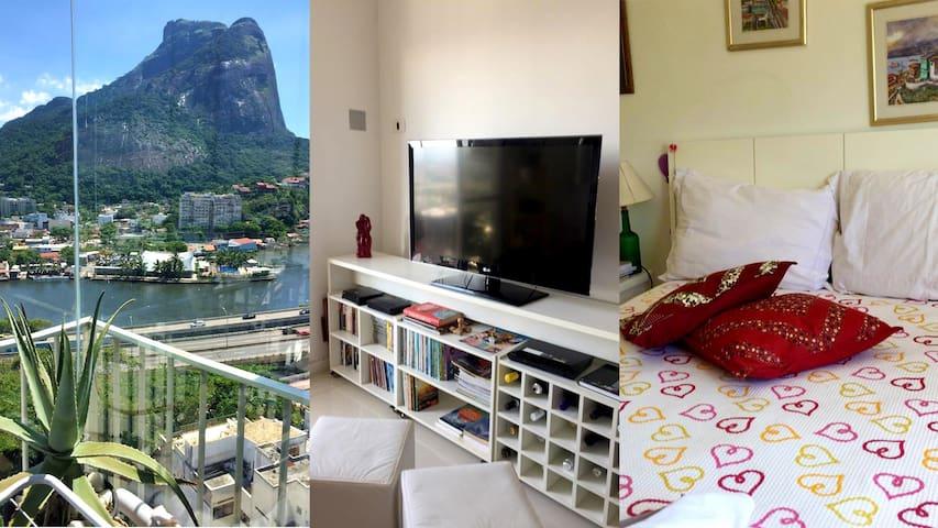 Apartamento em Frente à Praia da Barra da Tijuca