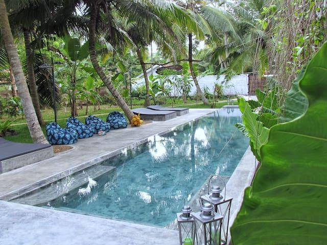 Tropical Saltwater Pool.