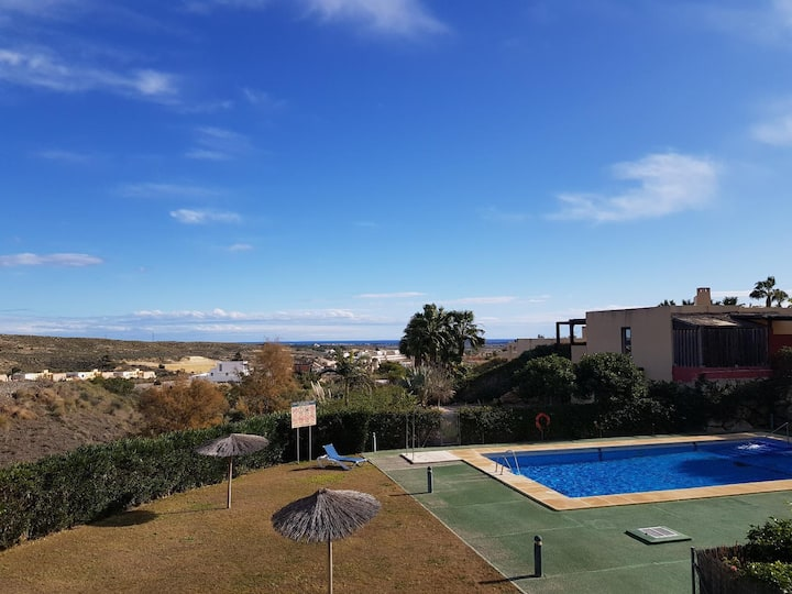 Oshun Vera Apartment with  pool and garden