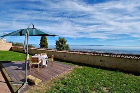 Appartamento per 4  con giardino - Montefollonico - Daire