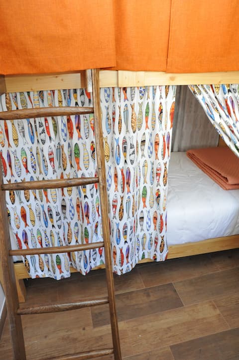 Hostel O Torneiro Memória Viva cama 3