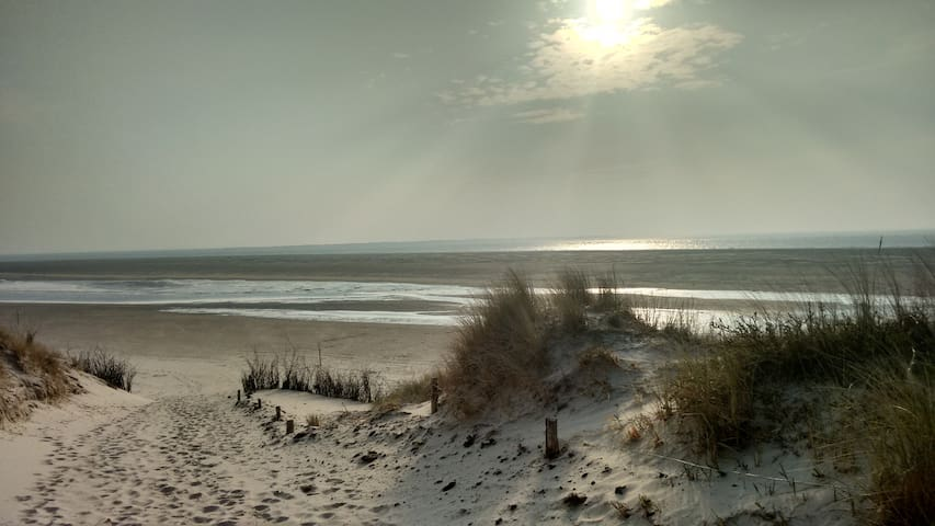 Langeoog, Doppelzimmer mit Strandfeeling