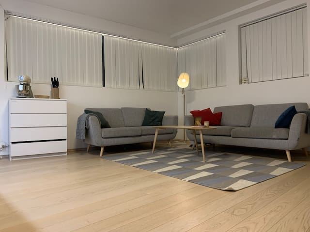 New apartment, near city center(600m) with PARKING
