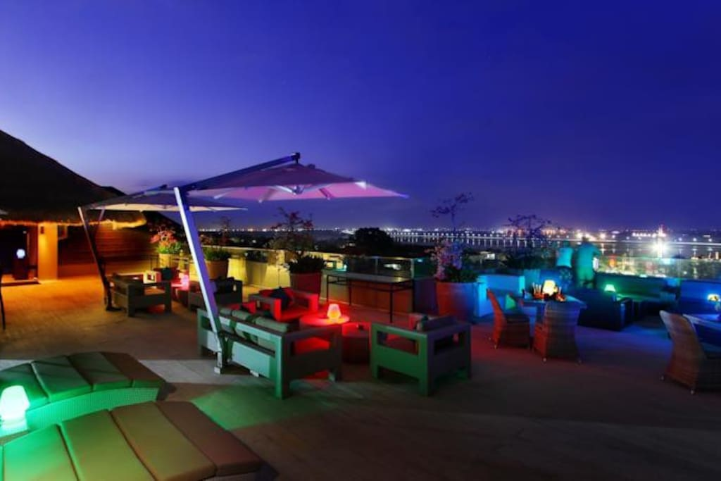 Roof Top at Night