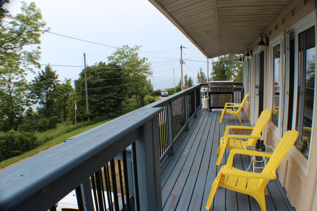 Deck View to the West