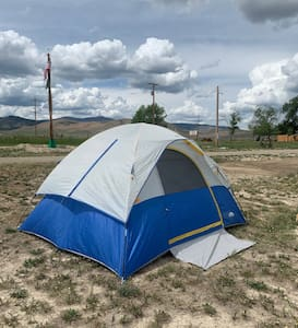 Tent Camping Spots at Circle Saw RV & Campground