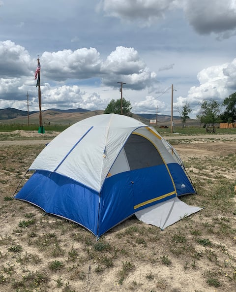 Tent Camping Spots at Circle Saw RV & Campground