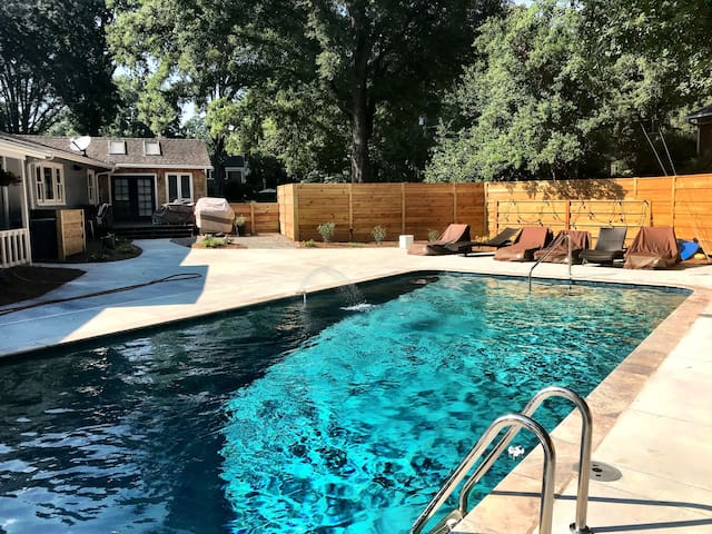 In-town Retreat with Pool