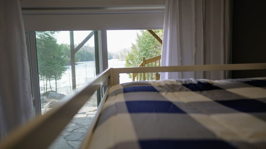 Lake view from Room 2 (double-double)