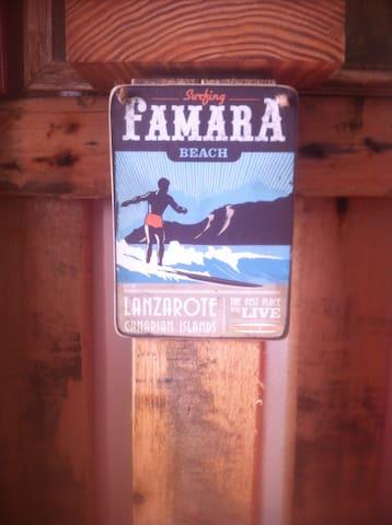 Habitación compartida en surfhouse - Caleta de Famara - Dům