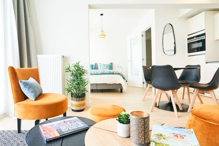 Stylish Studio Apartment - Grand Place & EU (a.d)