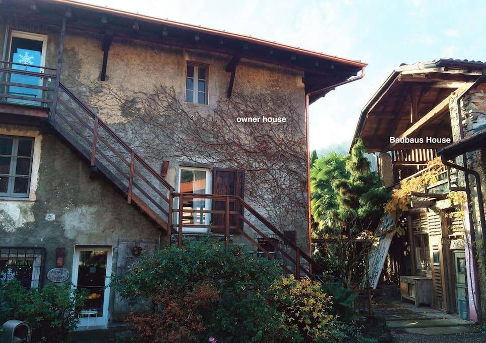 Exterior view of the location. Vue extérieure.