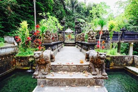 2BR pool villa, North Ubud, Bali, great scenery - Ubud - Huvila