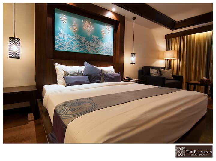 4 star room resort @ Klongmuang Krabi + BEACHFRONT