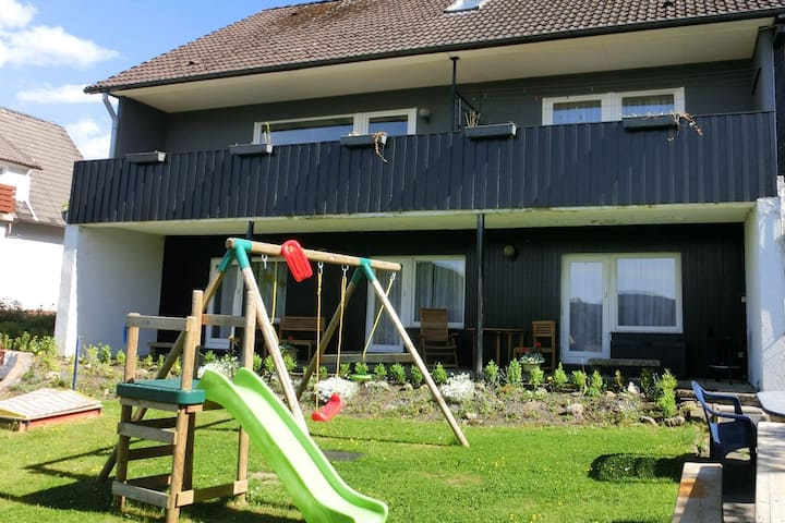 Apartment in health and Kneipp resort in the Upper Harz with huge garden