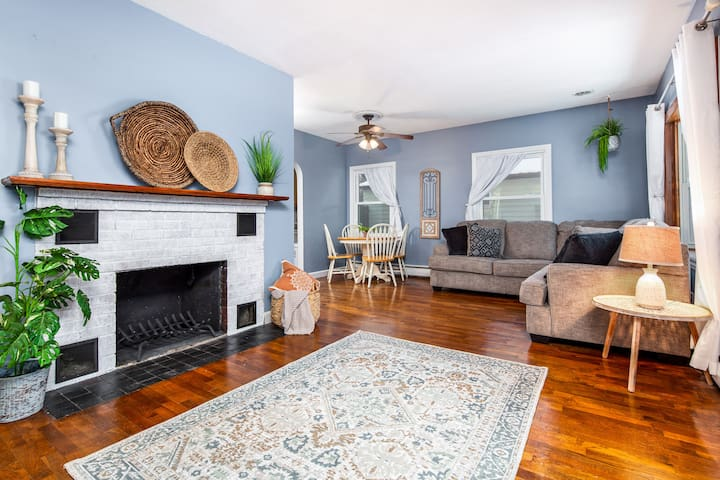 Cool, Calm & Cozy: 2 BR Home with plenty of charm