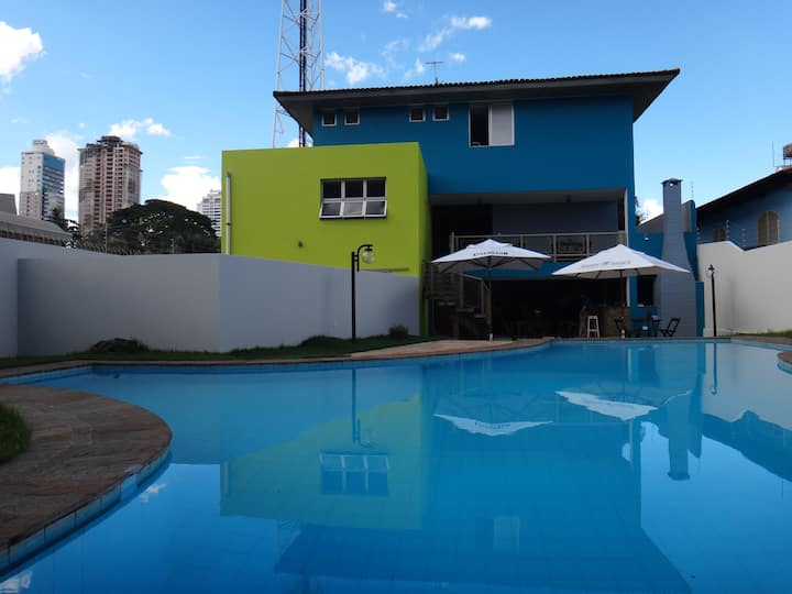 Hostel 7 Goiânia - Suíte Privativa