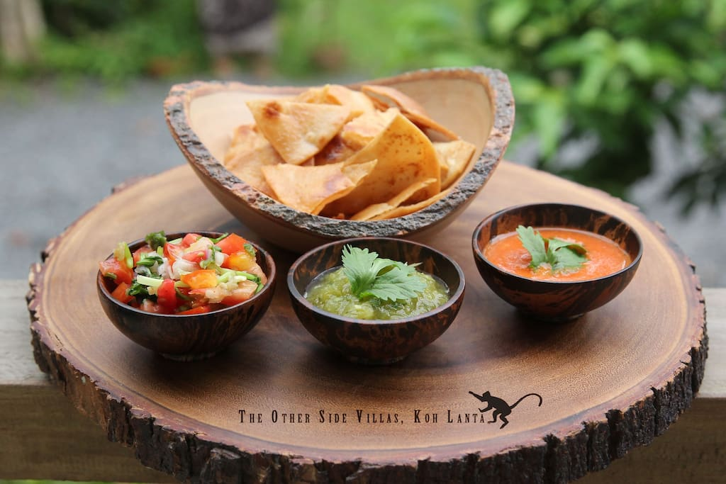 Mexican cuisine at The Other Side Villas