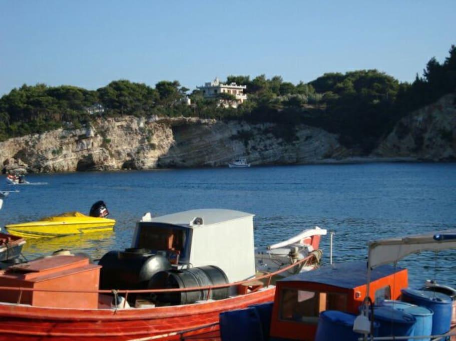 View from Patitiri Port