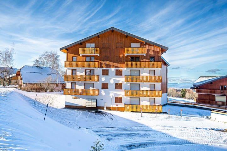 Cosy appartement avec vue spectaculaire sur le lac