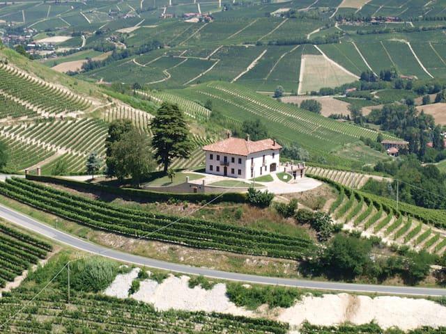 Villa Bricco Paglieri, charming villa at Alba