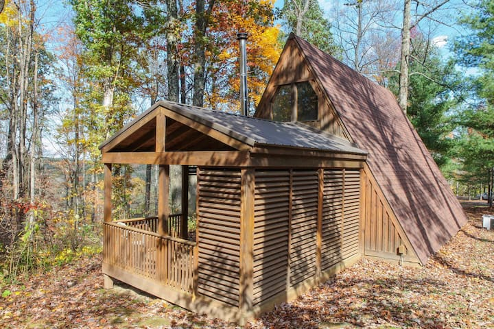 *NO GUEST SERVICE FEE* A-Frame #12 - Hocking Hills