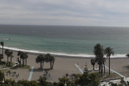 Grandes vistas de la playa