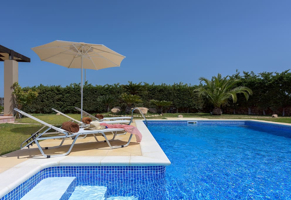 Evergreen Seaside Villa With Swimming Pool Houses For Rent In Rodos Greece