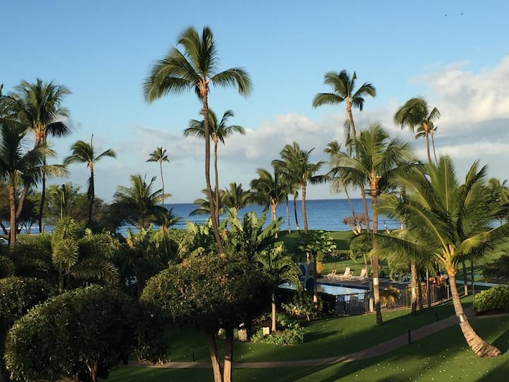 Relaxing Kihei Condo right on the Beach in Maui