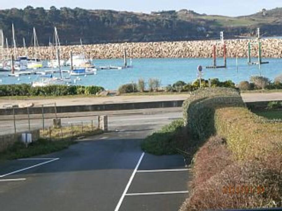 vue de la terrasse de 10m2