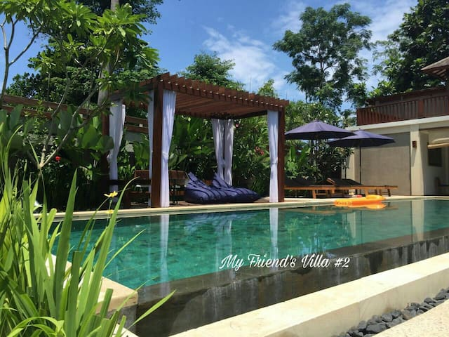 My Friend's Villa  With Trip Advice - Senggigi - Casa de campo