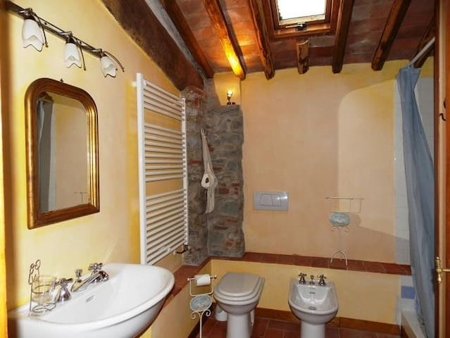 Renovated apartment in ancient farmhouse with pool - Pescaglia - Квартира