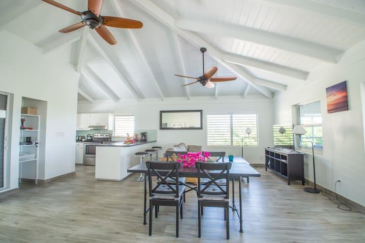 Villa Les Sablons-Spacious 2BR Suite 5min to Beach