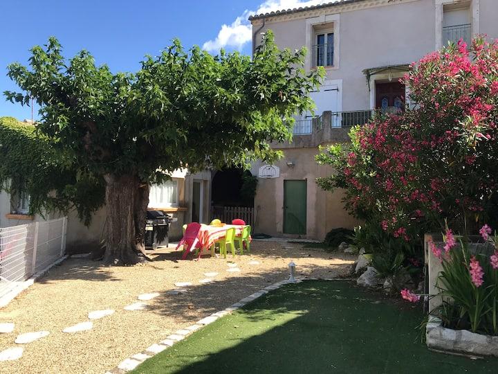 Maison vigneronne de village