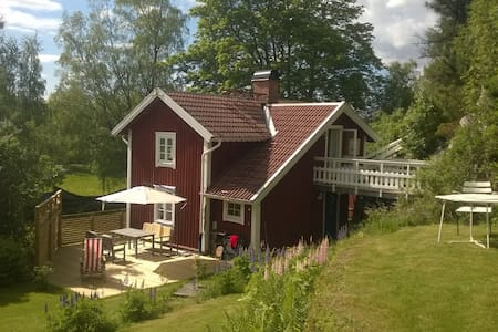 Perfekta sommartorpet i Bergslagen