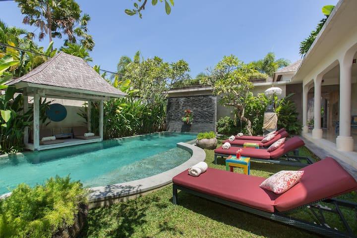 3 Bedroom villa Seminyak-Walkable to Everything