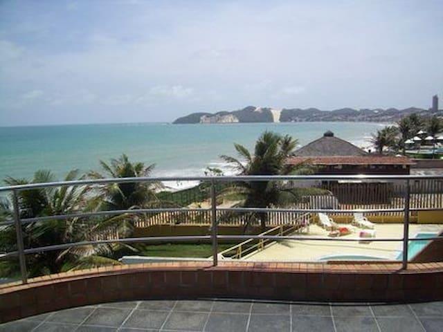 Belo flat Ponta Negra - 4 pessoas