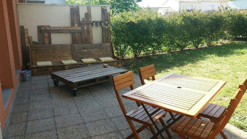 Appartement, 2 jardins et piscine - Bègles - Apto. en complejo residencial