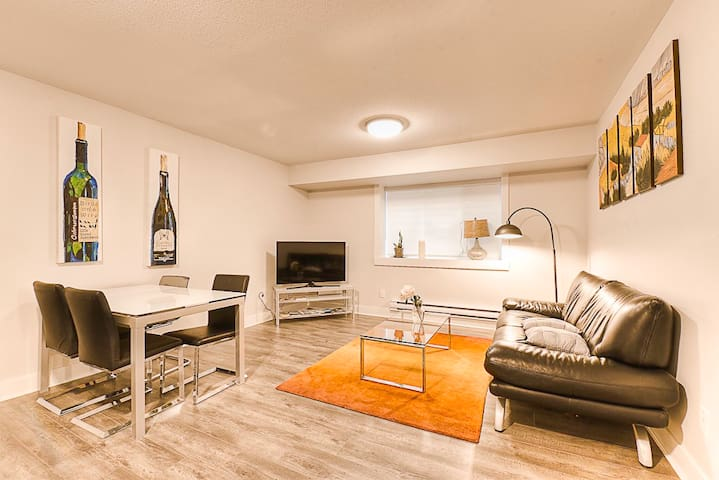 Elegant new 2bd suite, quiet, homie and central!