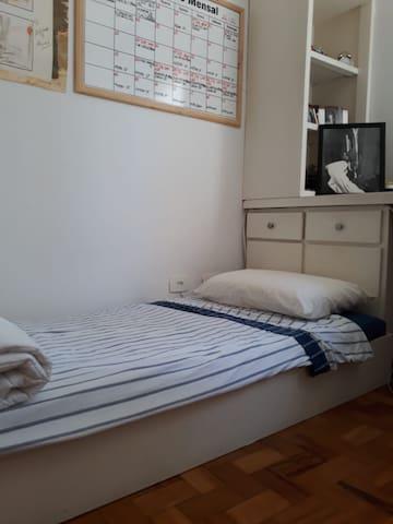 Nós pensamos no seu conforto e bem-estar, por isso sei que é importante ter uma ótima cama para dormir!