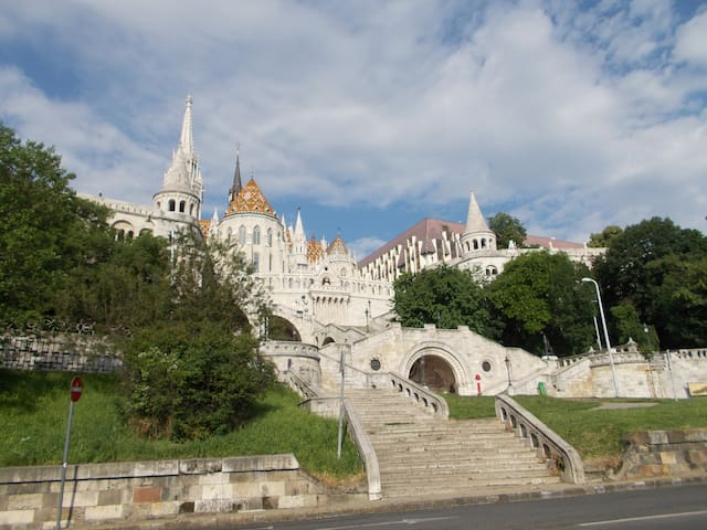 Fisherman's Bastion is a 10 minutes walk from my place where you have the best view in the city
