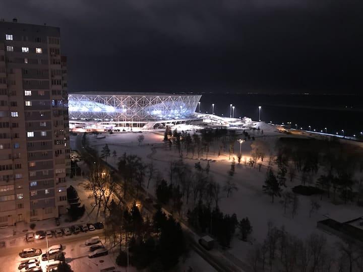 Квартира с видом на Стадион
