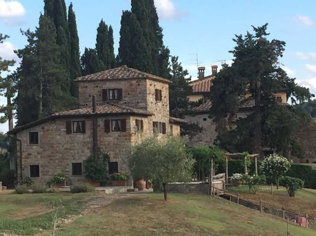 Il Cicalino - Cozy house in beautiful grounds - Pieve Santo Stefano - Villa
