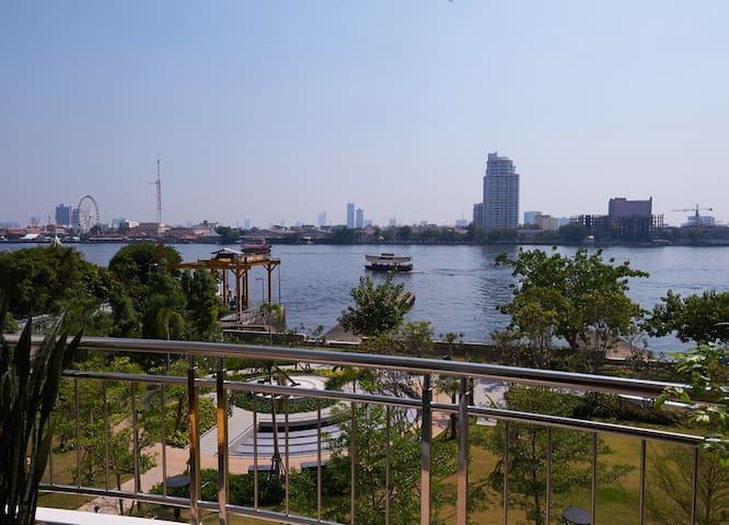 Stunning Riverfront Condo in Bangkok Citi Center - Bangkok - Condomínio