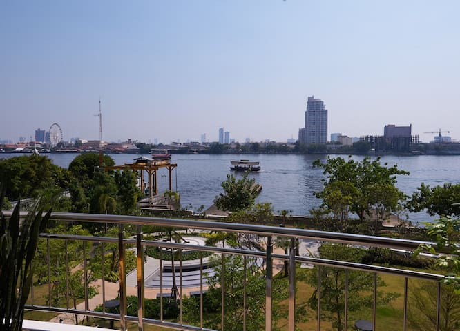 Stunning Riverfront Condo in Bangkok Citi Center - Bangkok - Ortak mülk