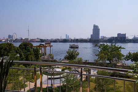 Stunning Riverfront Condo in Bangkok Citi Center - 曼谷 - 公寓
