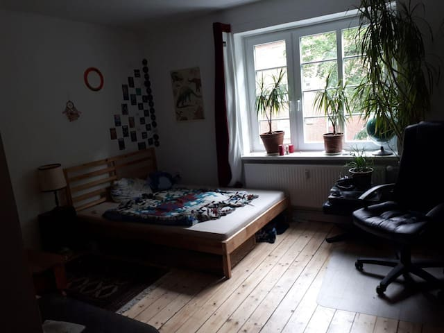 Ruhige Wohnung im alternativen Wilhelmsburg (HH)