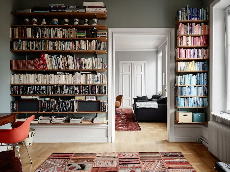 The library (3 rd bedroom)