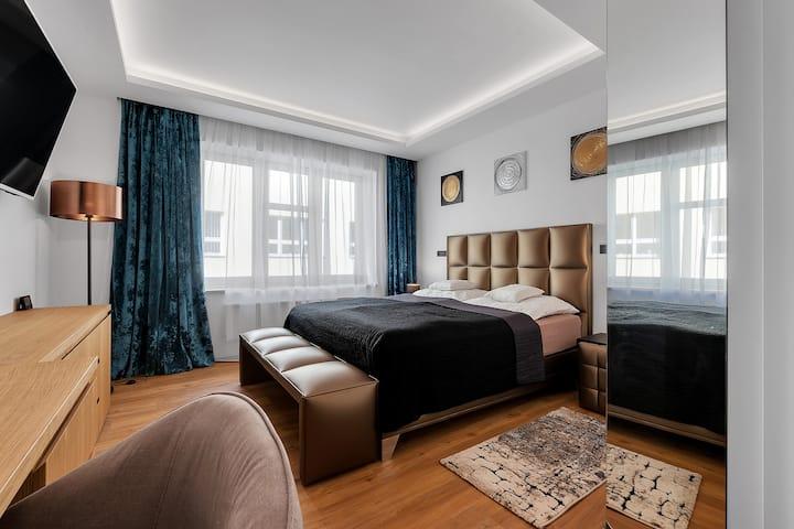 Nový designový apartmán s klimatizací